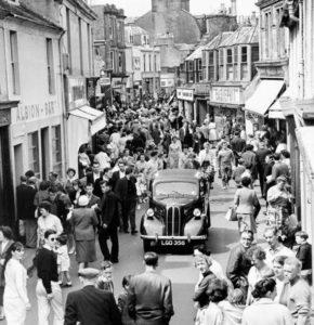 Dockhead Street Saltcoats 1960