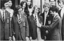 1972-Academy-pupils-at-Ayrshire-French-summer-school